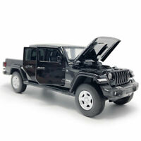 1:32 Jeep Wrangler Gladiator Pickup Truck Model Car Diecast Toy Vehicle Black