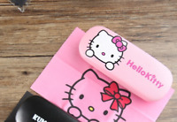 brand new Hello Kitty Cat eyeglass case box and cleaning cloth