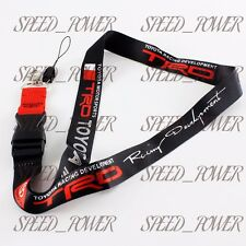 JDM TOYOTA TRD Lanyard Keychain Quick Release SUPRA AE86 COROLLA TACOMA PRIUS