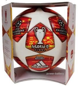 Adidas Finale Madrid 19 Profi Matchball 2018/2019 UEFA Spielball DN8685 +Box NEU