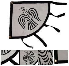 2x3 VIKING RAVEN FLAG SEWN & EMBROIDERED COTTON BANNER NORSE MYTHOLOGY SYMBOL