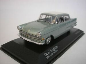 Vauxhall Captain 1959 Island Green Metallic 1/43 minichamps 430040004 New