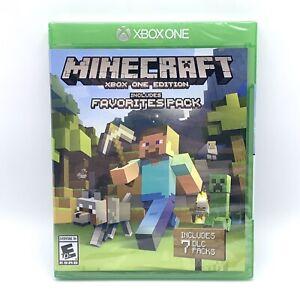 Minecraft: Xbox One Edition w/ Favorites Pack - 7 DLC (2016) New/Sealed Rare/HTF