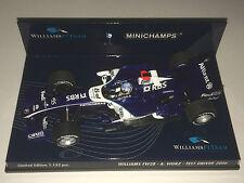 Minichamps F1 1/43 Williams Cosworth FW28 Alex Wurz-Test Driver 2006-Ed. Ltd