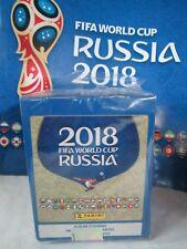 2018 PANINI WORLD CUP STICKER SOCCER BOX + ALBUM