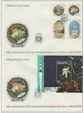 St Kitts FDC 1989 Moon landing Apollo