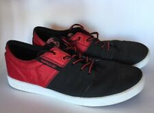 SUPRA Mens Terry Kennedy TK Stacks Vulc S44085 Black And Red Skate Shoes. Sz 13