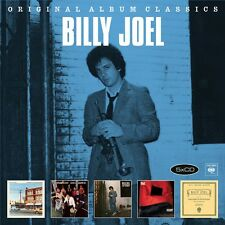 BILLY JOEL 5CD NEW Streetlife Serenade/Turnstiles/52nd St/Storm Front/Fantasies