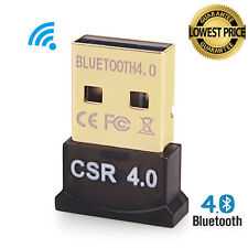 Bluetooth 4.0 USB 2.0 CSR 4.0 Dongle Adapter fr PC LAPTOP WIN XP VISTA 7/8/10 PP