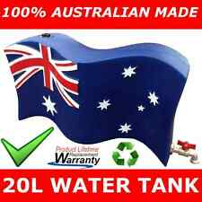 AUSTRALIAN FLAG 20L WATER TANK BEER KEG BREW LIGHT UP ARMY NAVY DRINKS MAN CAVE