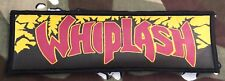 Whiplash Power And Pain Large Super Strip Printed Patch W008P Exodus Slayer