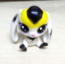 Littlest Pet Shop LPS Black Yellow White Beagle Dog Figure Collection Giftt