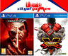 Tekken 7 & Street Fighter Bundle PS4 Game New & Sealed