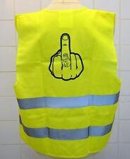 Gilet de Sécurité  jaune fluo fuk sécurité,bikers,motards,auto,trike