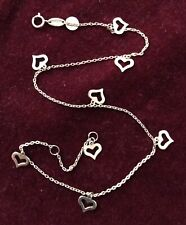 anklet for your Valentine 14kt yellow gold heart charm