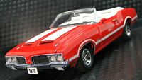 Vintage 442 Oldsmobile 1970 OLDS Built Classic Muscle Car 1 24 Metal Body Model