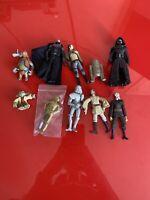10x Hasbro 2000+ Star Wars Action Figures Bundle job lot - STAR WARS - (16)