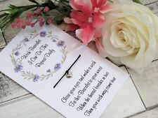 I Can Do This Wish Bracelet Anxiety Gift Card Self Care Bracelet Affirmation