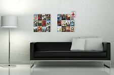Edelstahl Designer-DVD-Wandregal DVD-Wall4x3 für DVD-Aufbewahrung - 2.Wahl