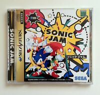Used Sega Saturn Sonic Jam JAPAN OFFICIAL IMPORT