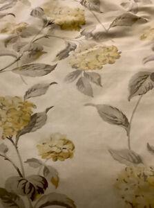 Laura Ashley Hydrangea rose naturel tissu matériau Prix par mètre