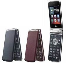 """LG Gentle F580 3.2"""" Red Quad-core 1.1 GHz Android Folder Phone By FedEx"""