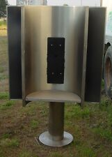 PEDESTAL MOUNTED PHONE BOOTHS - Four Sided - W 42 x D 42 x H 69 - Individual W 2