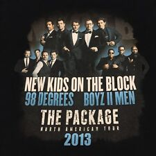 New Kids On The Block 2013 Tour Band Small T Shirt Rock Hip Hop Boyz II Men