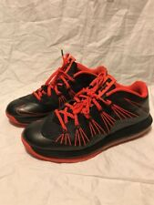 Lebron 10 Low Total Crimson Size 10.5 8 9 11 12 13 14