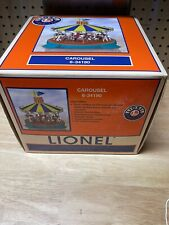 Lionel 34190 Animated / Operating Carousel w/ Music, Motion & Lights (O/027) 04