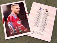 Crystal Palace v Southampton Saints Matchday Programme 21/1/20!!!