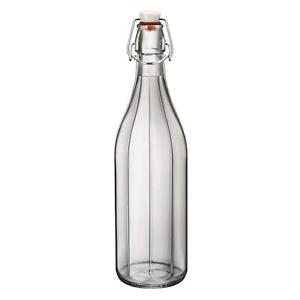 Water Wine Carafe Bormioli Oxford Table Serving Swing Top Bottle 1000ml