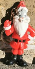 KEY CHAIN CHARM/CHRISTMAS ORNAMENT  BUGS BUNNY IN SANTA CLAUS SUIT BY ARBY'S