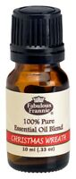CHRISTMAS WREATH Pure Essentail Oil Blend 10ml by Fabulous Frannie