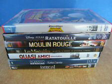 KUNG FU PANDA QUASI AMICI AMERICANI RATATOUILLE MOULIN ROUGE LOTTO 7 DVD