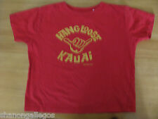 Neptune Zoo Red Cotton Tee Shirt Toddlers Size 4