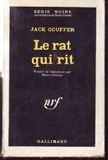 SERIE NOIRE  706  LE RAT QUI RIT  COUFFER