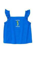 NWT Gymboree girls SEA SPLASH size 3-6 months seahorse top shirt (I1)