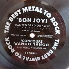 Disque souple WANGO TANGO ZEGUT BON JOVI Wanted dead or alive