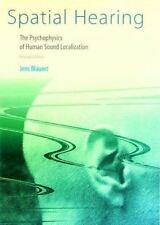 Spatial Hearing - Revised Edition: The Psychophysics of Human Sound Localizatio