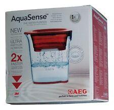 AEG Aqua Sense AWFSJ1 1,2 Liter Wasserfilter/Filterkanne/Filter Rot