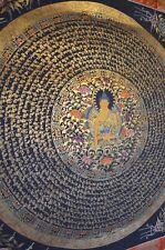 Mandala buddha painting