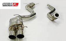 "OBX Exhaust 3"" Pipe Cat Back Fits 2010 12 13  2014 Audi A5 Quattro 2.0L"