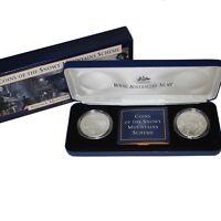 1999 Australian Coins of the Snowy Mountain Scheme $10 Silver UNC Set