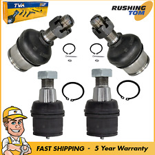 4Pc Front Lower & Upper Ball Joint Kit for Ford F-250 F-350 Excursion 4WD