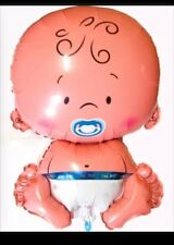 """It's A Boy Mylar Balloon Baby Shaped Baby Shower Decorations 29"""" Brand New"""