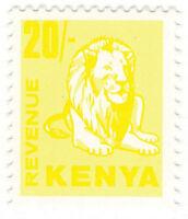 (I.B) KUT Revenue : Kenya Duty 20/-