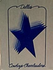 1980 Dallas Cowboys Cheerleader Playing Cards Porrtait and Action Photos