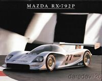 1992 Mazda Motorsports RX-792P GTP IMSA Camel GT postcard