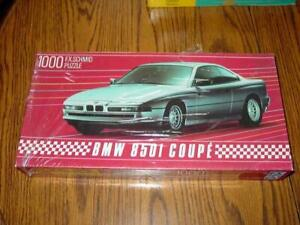 FX Schmid : Dream Cars - BMW 850i Coupe - 1000 pc Puzzle - West Germany (SEALED)